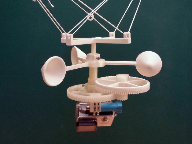 in 3D bộ gá camera Gopro chụp ảnh trên không trung