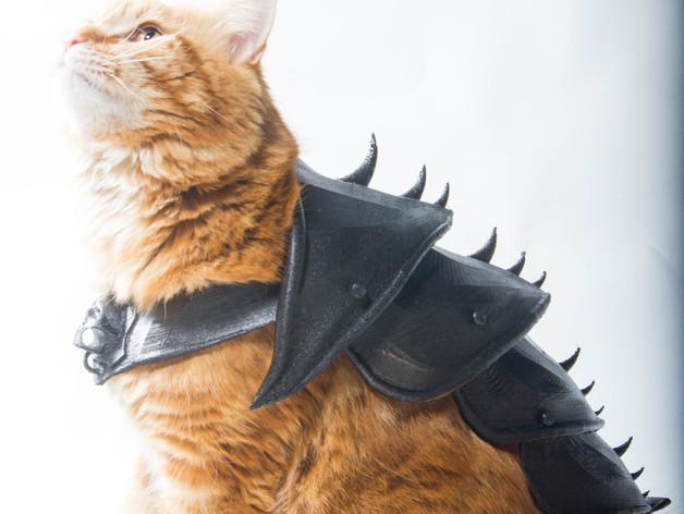 in 3D chế bộ áo giáp cho mèo