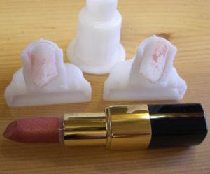 in 3D khuôn son môi - khuôn thỏi son . Diy lipstick mold, tự làm son môi