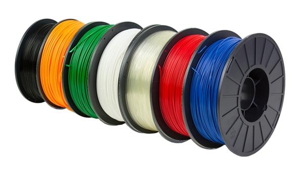 Nhựa in 3D ABS, PLA được đóng gói thành cuộn như dây điện