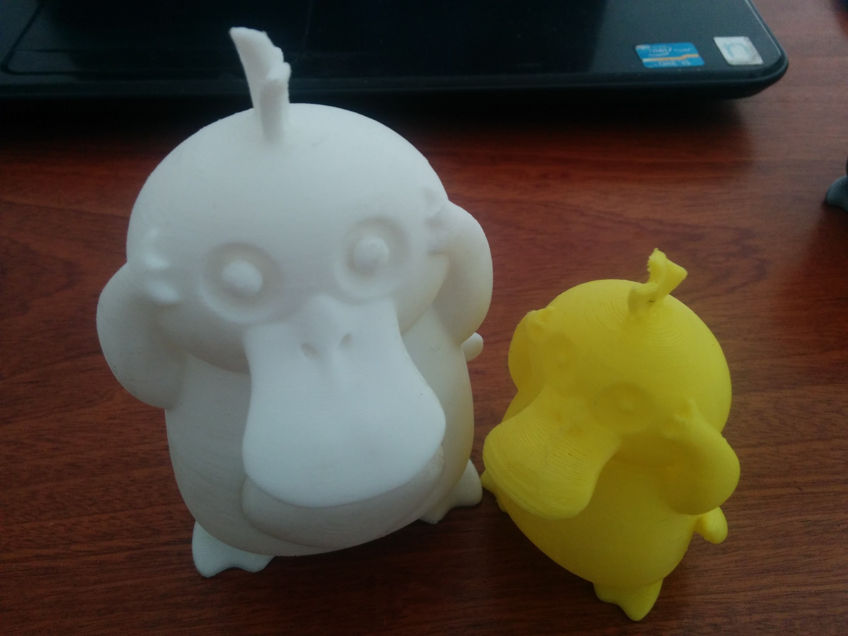 Mẫu vịt PsyDuck trong game Pokemon
