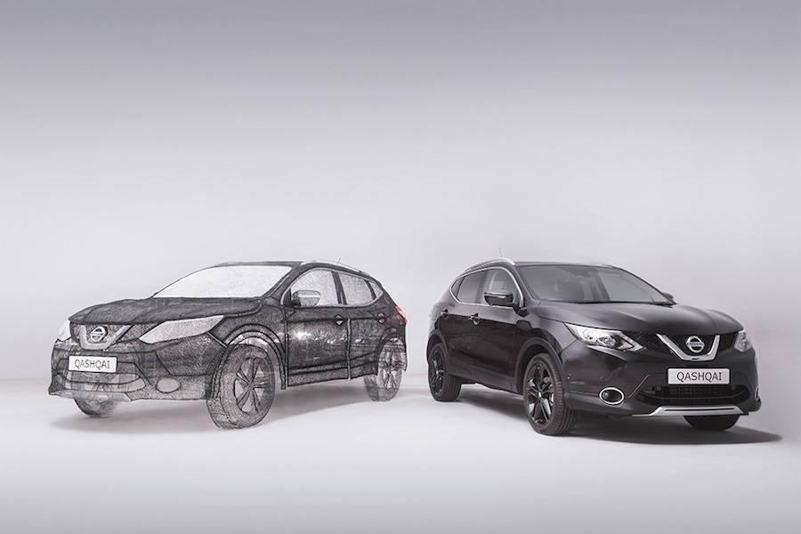 Vẽ xe oto bằng bút vẽ 3D 3Doodler. Dựng mô hình xe hơi 3D