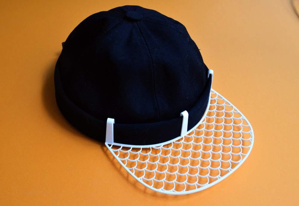 in 3D nón lưỡi trai, sáng tạo thời trang với in 3d, in 3d nón