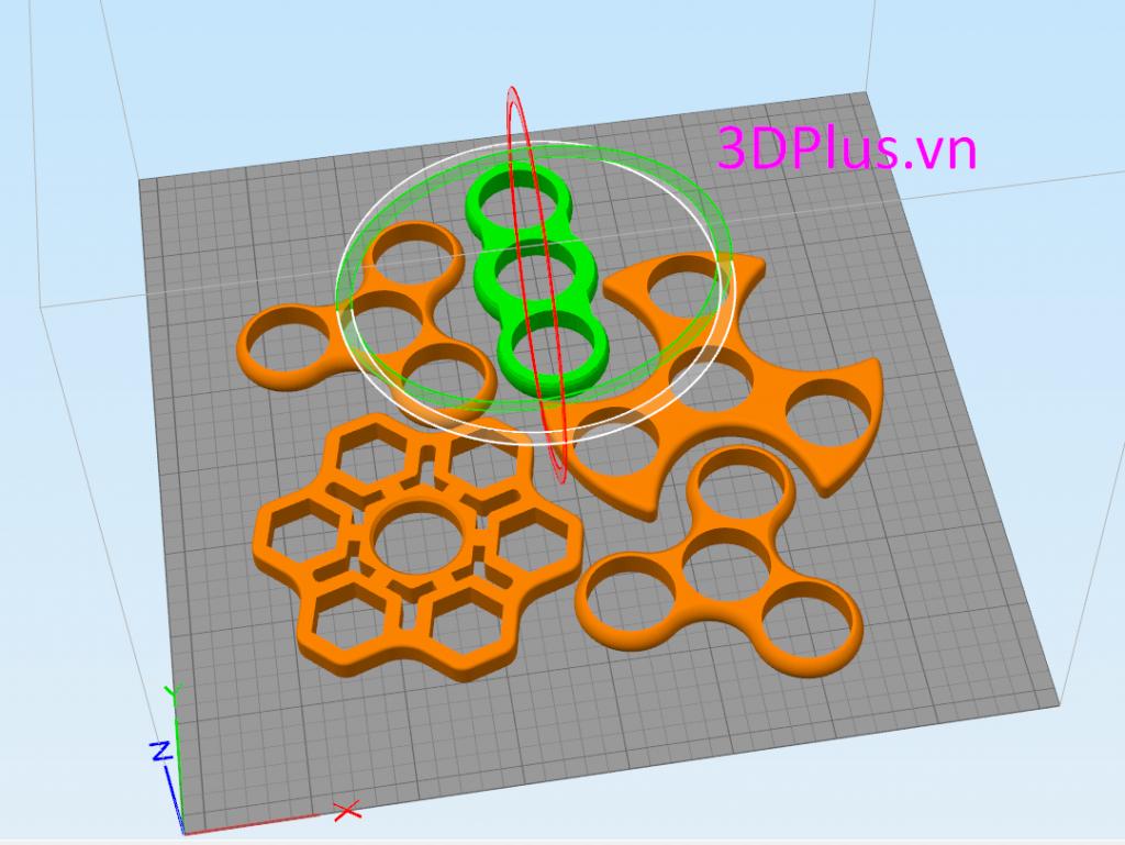 Fidget spinner - đồ chơi vòng bi xoay