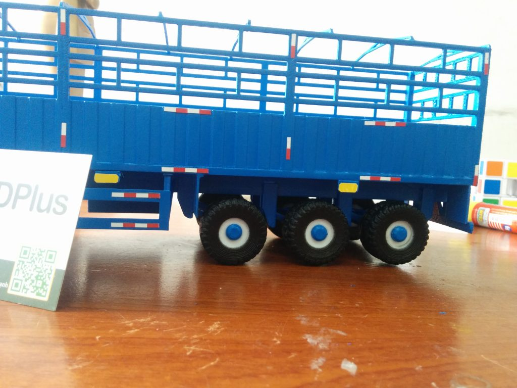 Sản phẩm in 3D xe container tân thanh