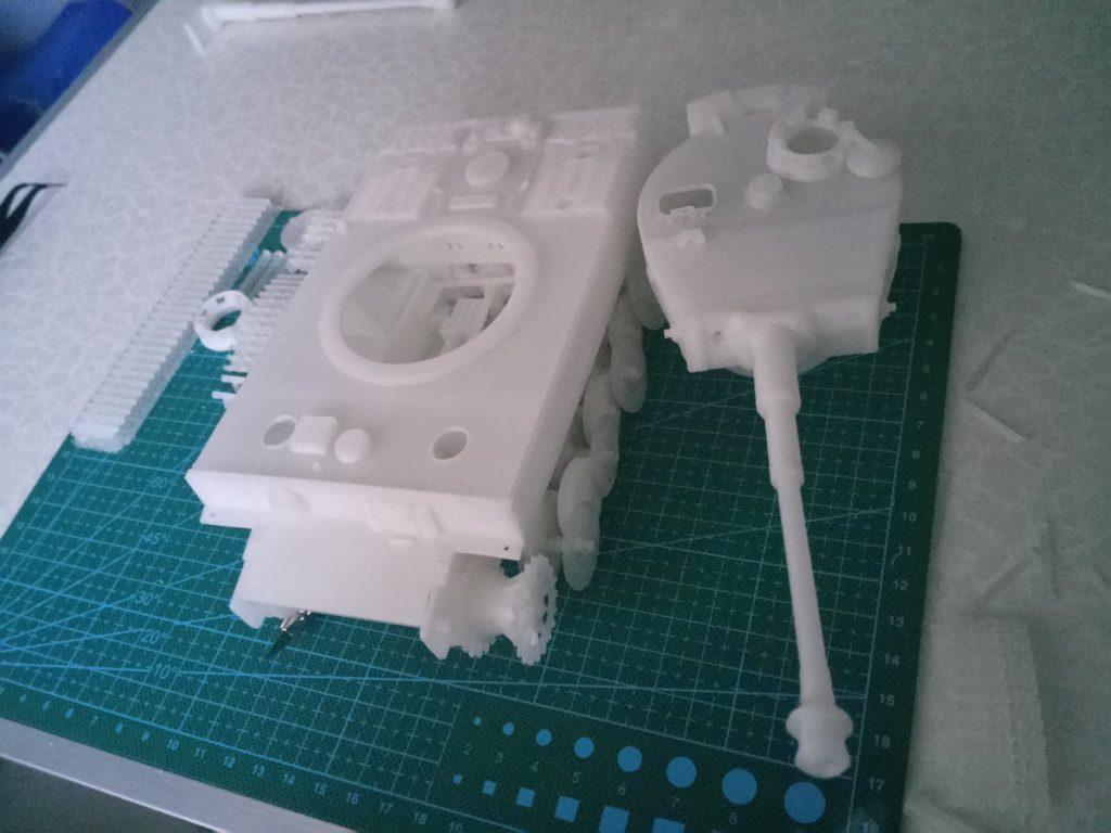 Thiết kế 3D xe tăng, tạo mẫu in 3D tank Tiger huyền thoại. Mẫu 3D xe tank wwii TIGER của ĐỨC