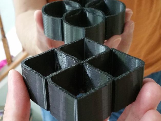 Đánh lừa thị giác bằng mô hình 3D