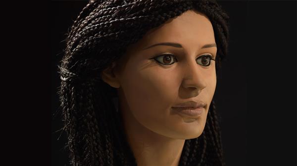 Tái tạo khuôn mặt cô gái sống 9000 năm trước bằng 3D