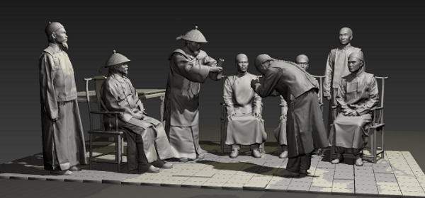 nghi lễ truyền thống in 3D